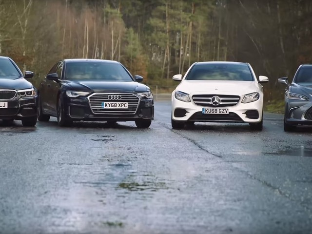 Video: BMW 5 Series Compared to E-Class, A6 and Lexus ES