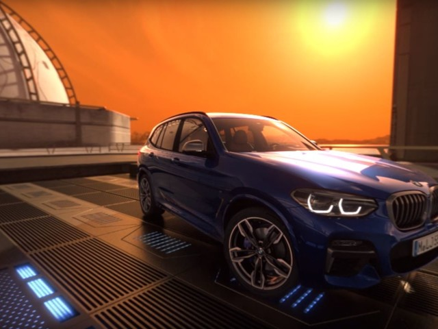 Video: 2018 BMW X3 Features Showcased in Virtual 360° Tour on Mars