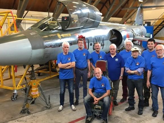 Duizenden uren sleutelen om oude Starfighter de lucht in te krijgen: 'Alleen de motor ontbreekt nog'