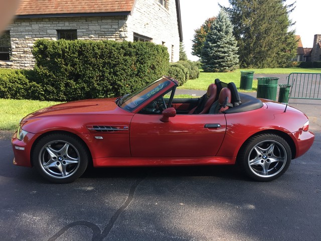 Does this Very red 2001 BMW Z3 M Roadster make you blush?