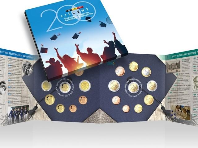 Bijzonder twee euro muntstuk naar aanleiding van 200ste verjaardag UGent