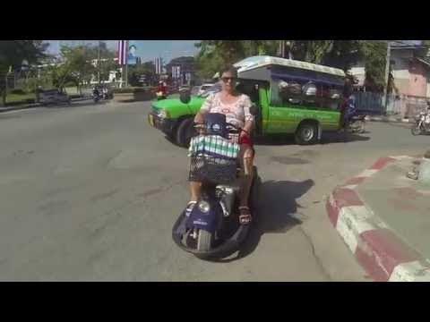 GRATIS scootmobiel in Hua Hin - Thailand