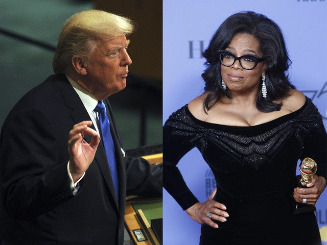 "Trump Lashes Out At Oprah Over ""60 Minutes"" Interview, ""Hope Oprah Runs So She Can Be Defeated And Exposed!"""