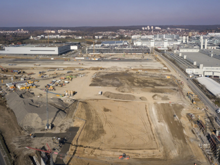 Mercedes-Benz lays cornerstone for new Factory 56: digital, flexible and green production; S-Class and EQs