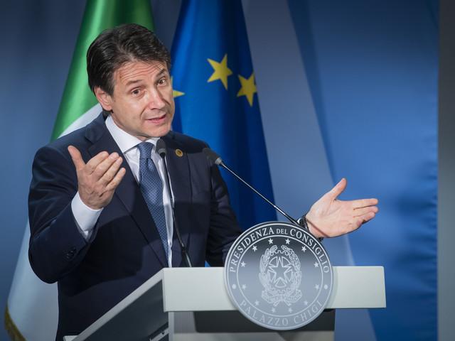 Italiaanse premier Conte neemt ontslag
