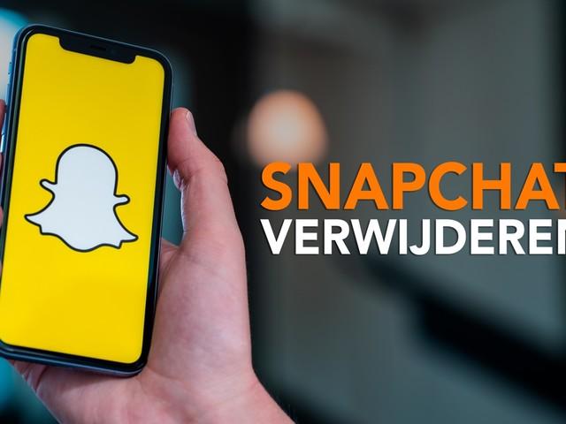 Video van de week: Snapchat verwijderen