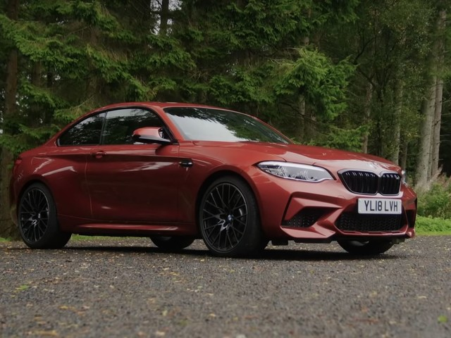 Video: BMW M2 Competition Nominated for Evo Car of the Year Award