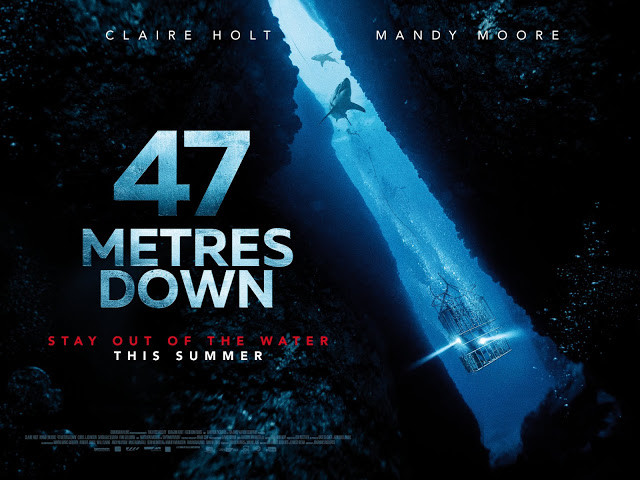 I really enjoyed Johannes Roberts' gripping & taut shark attack thrill ride 47 Metres Down - FILM REVIEW