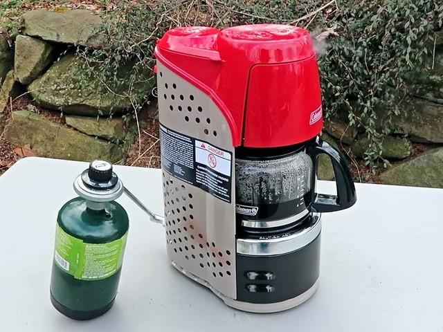 Is dit de beste manier om koffie te maken op de camping?