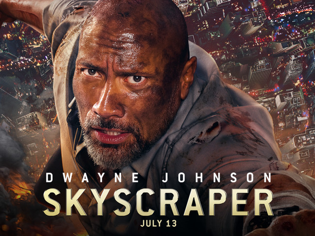 """Movie Review: Painfully Derivative """"Skyscraper"""" Really is Just """"Die Hard in a Towering Inferno"""""""