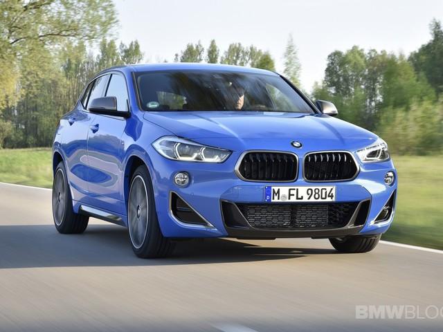2019 BMW X2 M35i – Misano Blue photo gallery