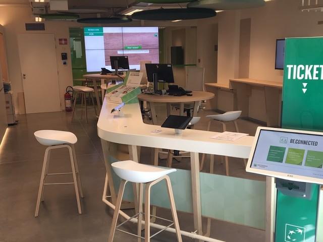 BNP Paribas Fortis opent een nieuw type kantoor 'Be.Connected' in Oostende