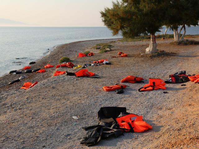 Vluchtelingen verdronken voor Turkse kust
