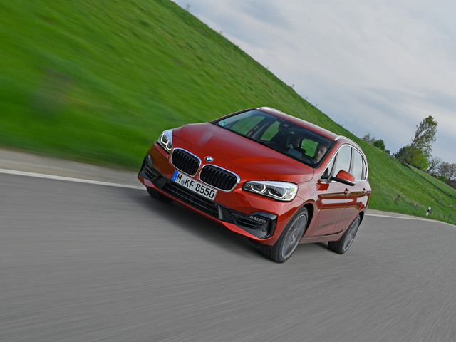 SPIED: The BMW 2 Series Active Tourer Looks… Good?