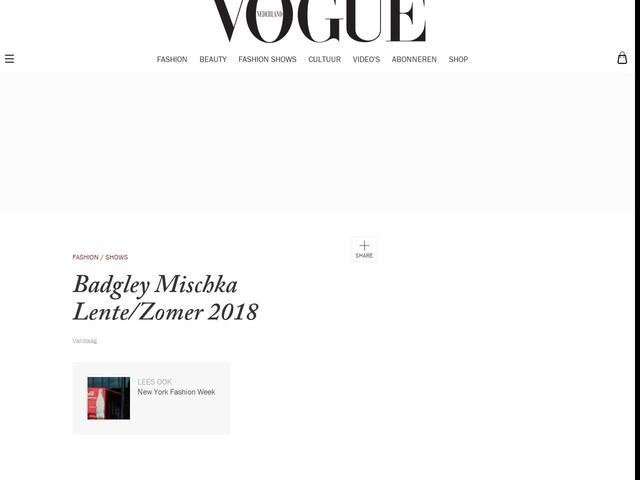 Badgley Mischka Lente/Zomer 2018