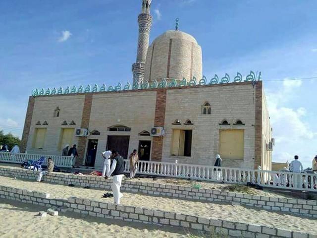 Egyptische staatsmedia: 184 doden bij aanslag moskee