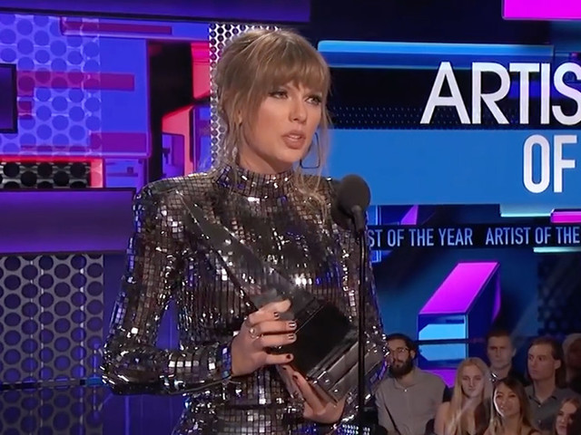 Taylor Swift Gets Political After Making History At The AMAs