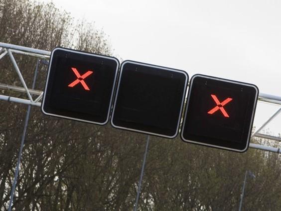Snelweg A29 van Bergen op Zoom richting Rotterdam blijft nog dicht