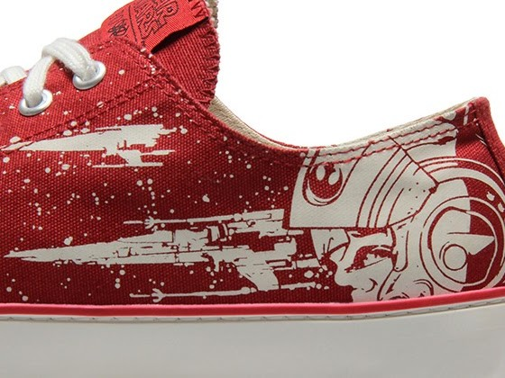Brand New X-Wing Star Wars Po-Zu Sneakers