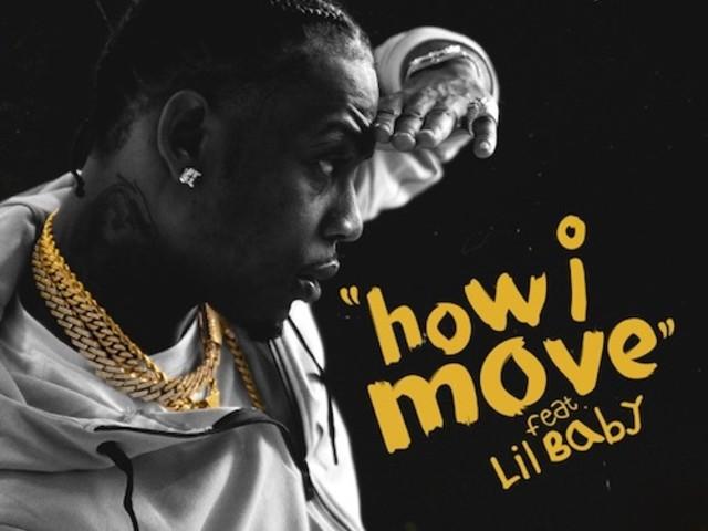 "Flipp Dinero – ""How I Move"" f. Lil Baby"
