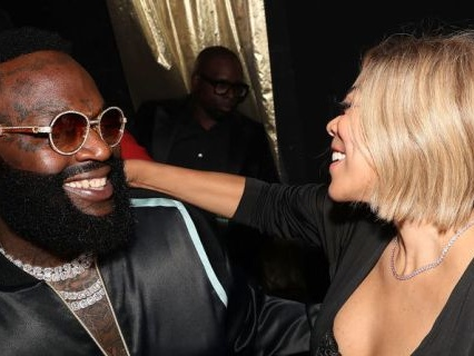 """W-W-Whew Chillay: Wendy Gets Hot Girl Handsy With Rick Ross & Meek Mill At """"Port Of Miami 2"""" Album Release Party"""