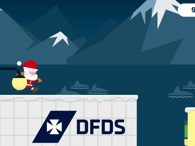 Reis winnen met spel 'Ferry Christmas'