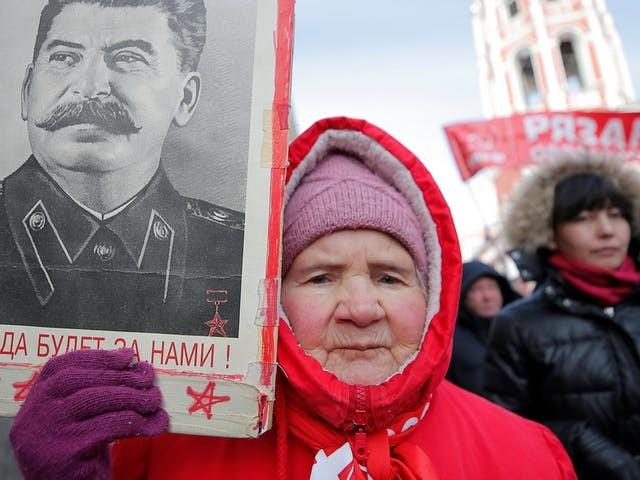 Communisme bleef lang populair in Rusland, maar de glans is er nu wel af