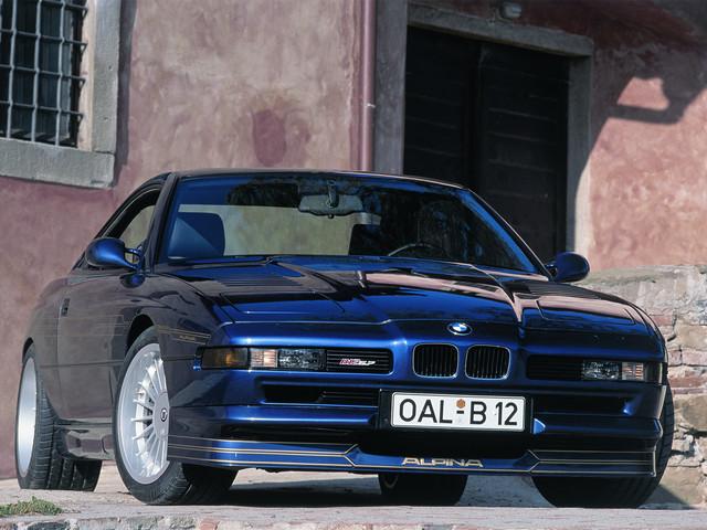 Rare gem: BMW ALPINA B12 5.7 Coupe with manual gearbox