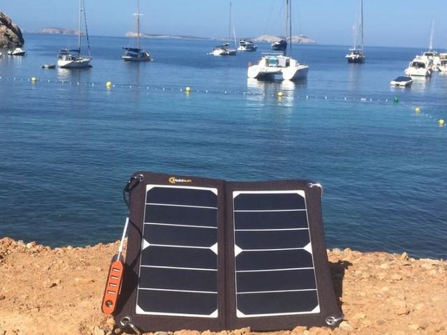 Mobiele zonnepanelen op Ibiza