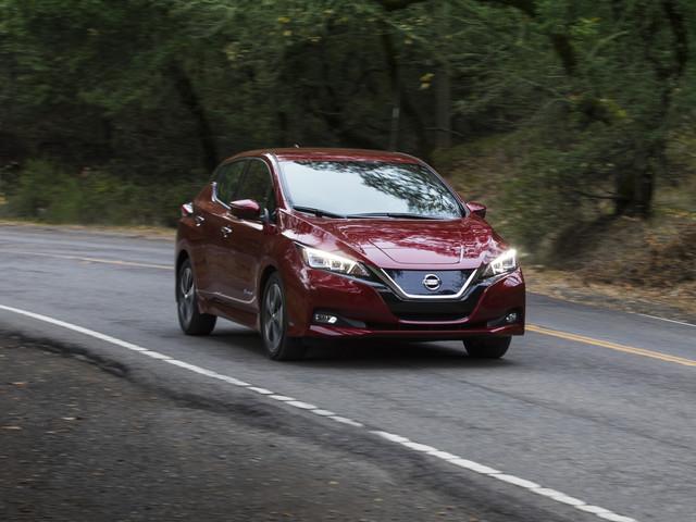 150-Mile 2018 Nissan Leaf EV Driven!