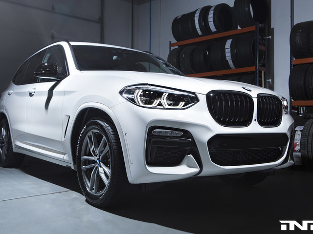 Photoshoot: Detailed Look At The Alpine White BMW X3 M40i