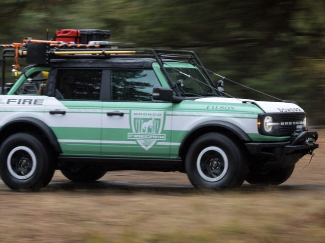 Ford Bronco + Filson Wildland Fire concept supports the National Forest Foundation