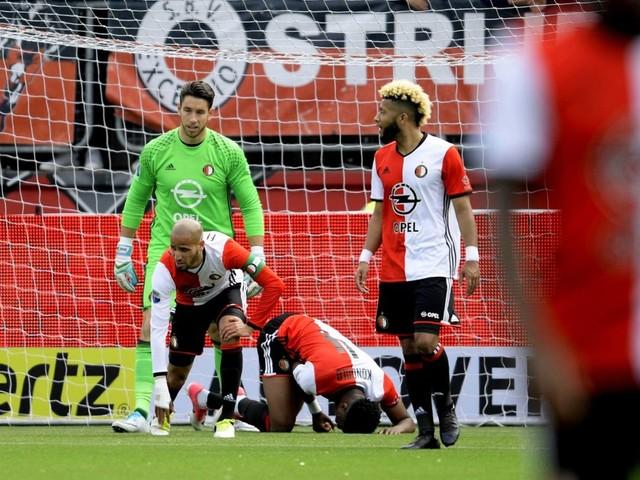 Keiharde klap voor koploper Feyenoord