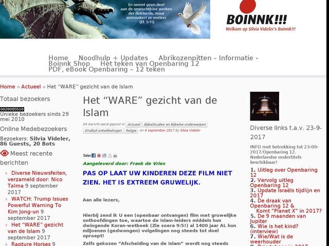 """Het """"WARE"""" gezicht van de Islam"""