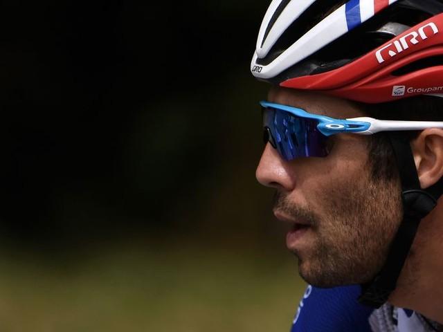 Thibaut Pinot is tegen wil en dank de Franse hoop in de Tour