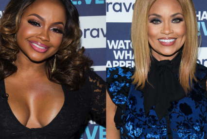'Now, Check That!' Phaedra Parks Perfectly Trolls Gizelle Bryant Over THOSE 'Mr. Chocolate' Comments