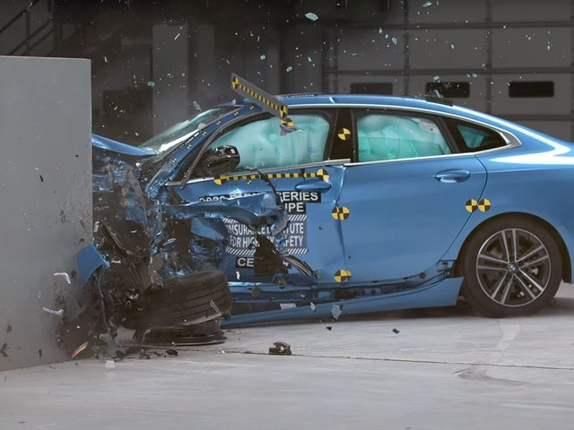 Video: BMW 2 Series Gran Coupe gets IIHS Crash Tested