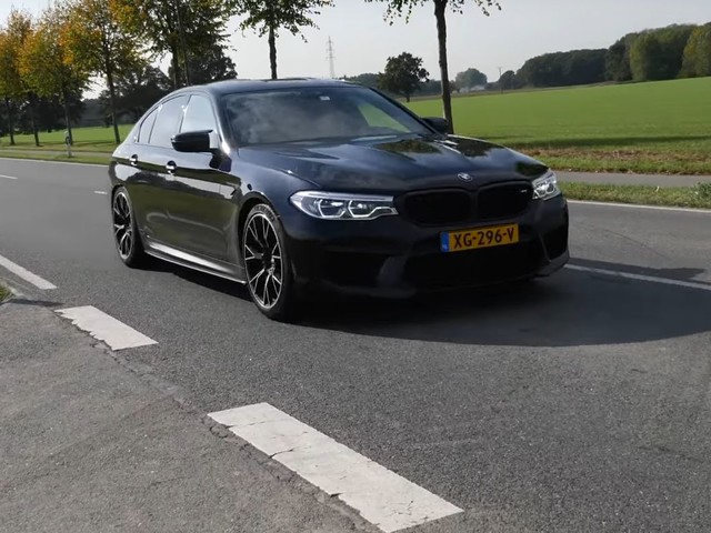 Video: 770 HP G-Power BMW M5 does 0-200 km/h in 10 seconds