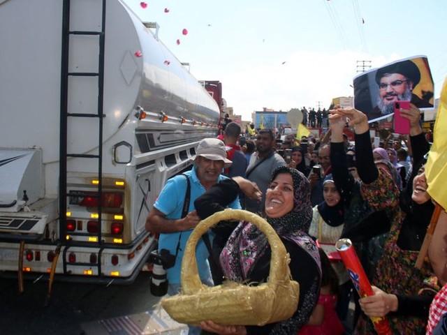 Feest in Libanon: eerste levering van Iraanse olie komt aan