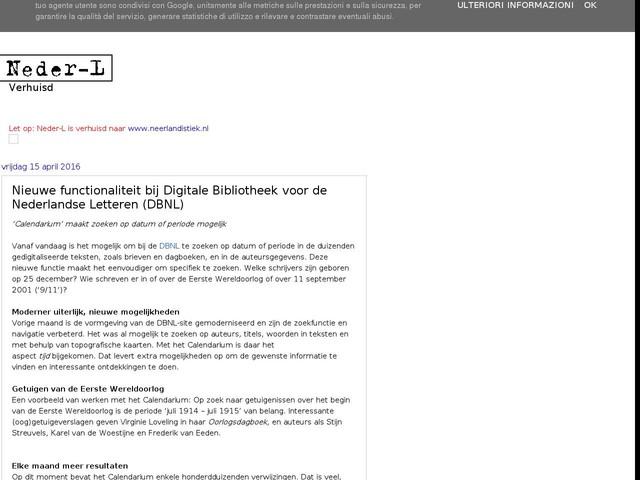 Nieuwe functionaliteit bij Digitale Bibliotheek voor de Nederlandse Letteren (DBNL)