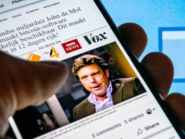 Facebook in hoger beroep in zaak nepadvertenties met John de Mol