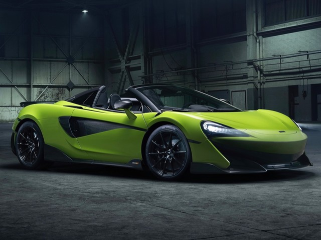 McLaren 600LT Spider debuts with a $256,500 price tag