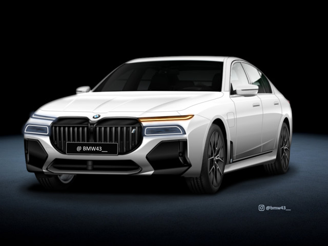 Future BMW 7 Series (G70) gets rendered in a unique way