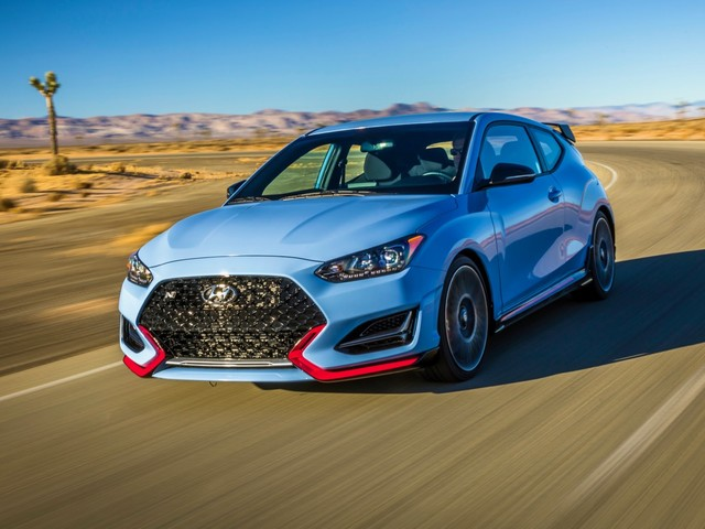 2019 Hyundai Veloster N debuts with 275 horsepower