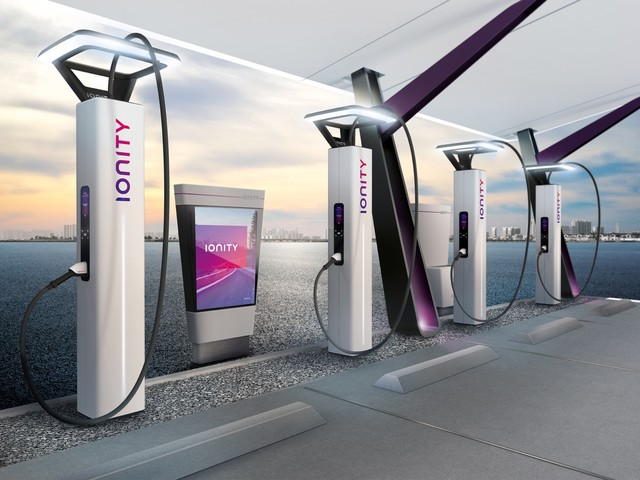 BMW Designworks will design EV chargers for Ionity