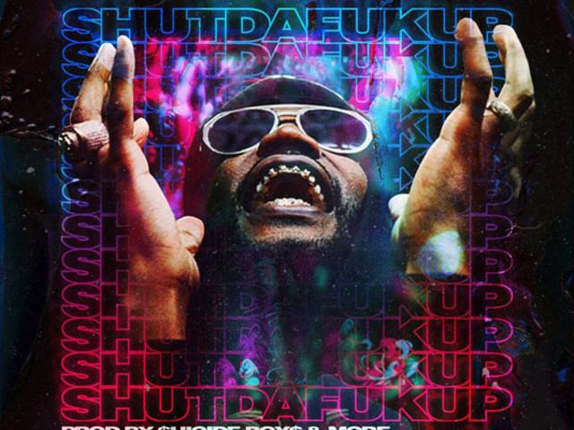 Juicy J Drops Surprise Mixtape, 'SHUTDAFUKUP'