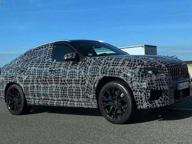 SPIED: BMW X6 M gets seen in camouflage again at the Nurburgring