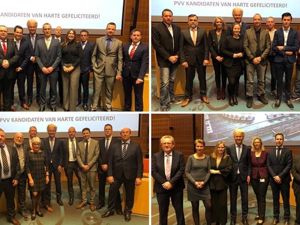 PVV presenteert Overijsselse lijsttrekkers