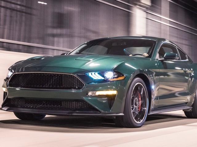 2019 Ford Mustang Bullitt arrives in Detroit with 475 horsepower