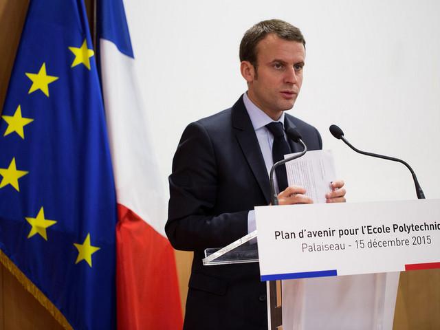 Macron pleit voor Europese interventiemacht